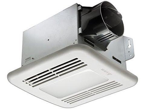 [Exhaust Fan Bathroom] Delta BreezGreenBuilder GBR100LED 100 CFM Exhaust Bath Fan with LED Light