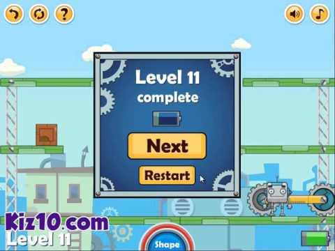 Block Bot - Game Walkthrough  Kiz10