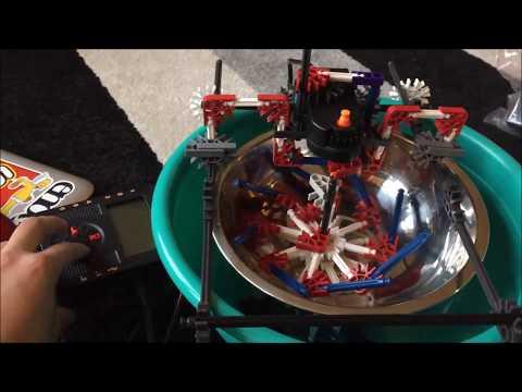 K'NEX Ice Cream Machine Robot - DIY