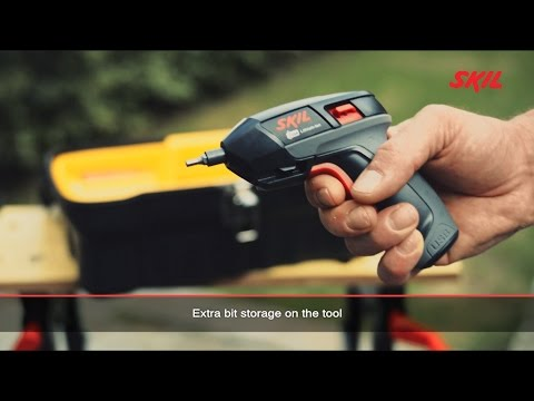Skil 2636: Compact Lithium-Ion cordless screwdriver with micro USB charger