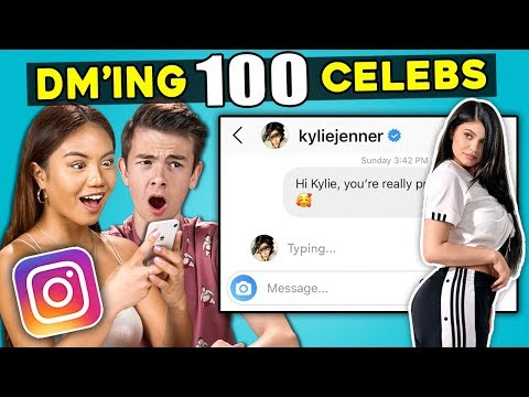 Xxx Mp4 Teens React To DM'ing 100 Celebrities To See How Many Would Reply 3gp Sex