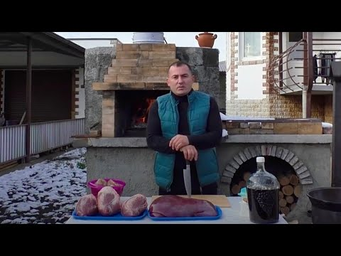 ПЕЧЕНЬ, СЕРДЦЕ, ПОЧКИ. КОЛБАСА по-Кавказски