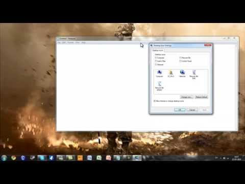 How to remove recycle bin from desktop (windows 7, 8 and 8.1)