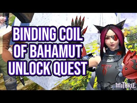 FFXIV 2.0 0071 Binding Coil of Bahamut Unlock Quest
