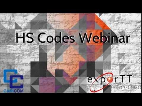 HS Codes Webinar