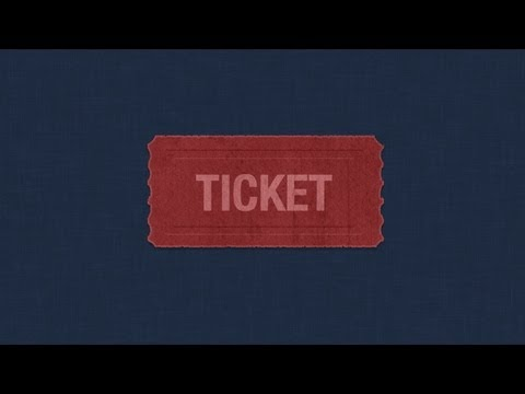 Create a Rough Ticket Icon in Photoshop |