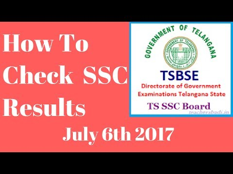 Check Telangana SSC 10th Class Results - July 6th