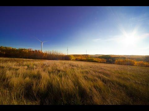 Building the Bull Creek Wind Facility