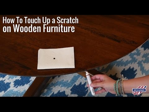 How To Touch Up a Scratch on Wooden Furniture