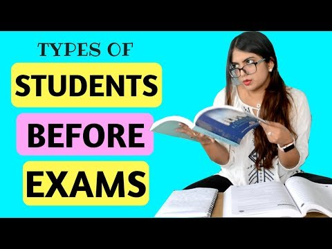 Types of Students Before An Exam | Nakhrebaaz | Latest Comedy Hindi Videos
