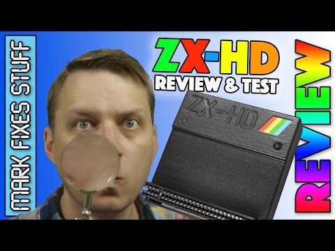 ZX-HD HDMI for Sinclair ZX Spectrum - Build, Usage & HONEST review