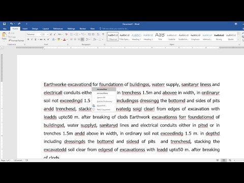 Shortcut Key to Check & Correct Spell Mistakes in MS Word-Hindi