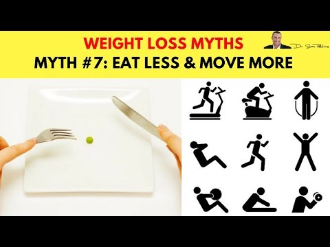 🍽️ Myth #7: Eat Less & Move More Is The Secret To Losing Weight - Top 10 Biggest Weight Loss Myths