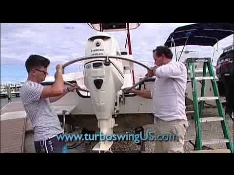 TurboSwing: Outboard Tow Bar for Watersports
