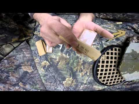 Little Big Mouth & Raspy Old Hen Scratch Box Turkey Calls