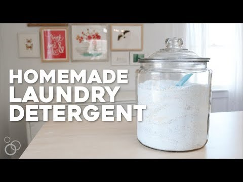 Cheap, Simple, Homemade Laundry Detergent