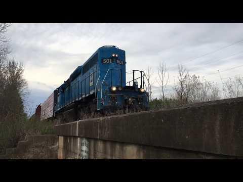 Thomas the train  - Train passing over a bridge Logging Lillian Park, Coleman, WI Sounds
