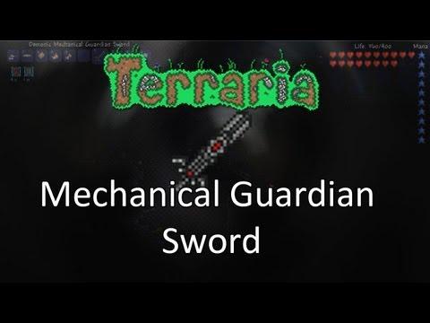 Terraria: Reborn Mod — Mechanical Guardian Sword!