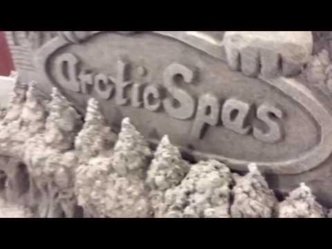 Scott Dodson Sandcastle at arctic spas