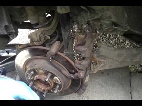 How to replace rear brake pads on a 2009 Mazda 6
