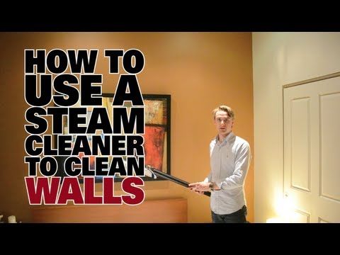 How to Use a Steam Cleaner to Clean Walls - Dupray Steam Cleaners