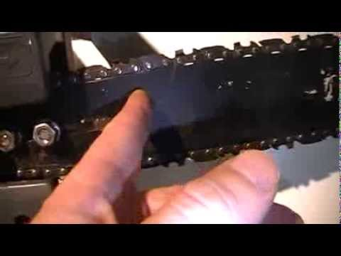 How To Remove or Replace Electric Chainsaw Chain Quick and Easy