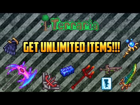Terraria Mobile 1.2.4 | Super Easy Item Duplication Glitch!!!! (Android Only) Working 2017