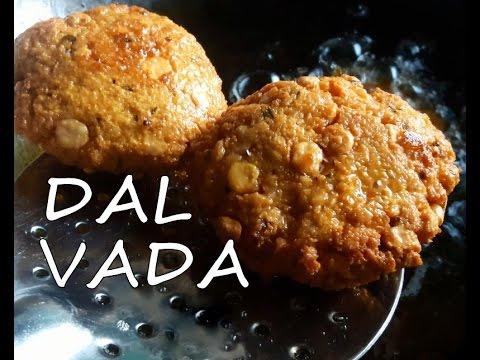 Chana Dal Vada - Chattambade - Dal Vada - Masala vada- चना दाल वडा - by AroundTheKitchen