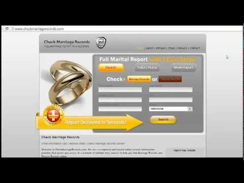 How to Check Marriage Records Online