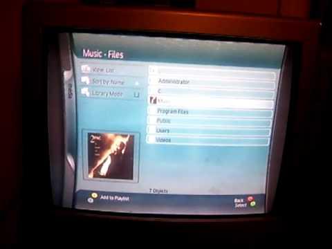 Softmodded Original Xbox - Playing Music on XBMC with Xbox 360 Skin - (www.xbmcxbox.blogspot.com)