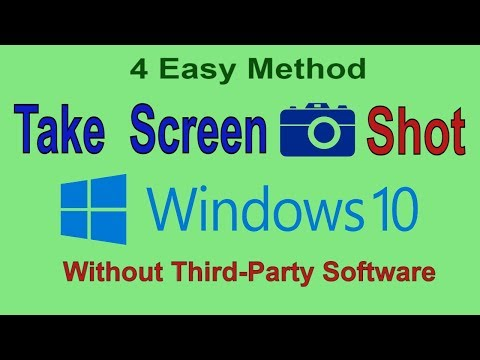 How to Take Screenshots Using Default Tools in Windows 7, 8, 10 (Without any Software)