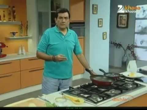 Poached Eggs On Vegetables - Sanjeev Kapoor - Khana Khazana