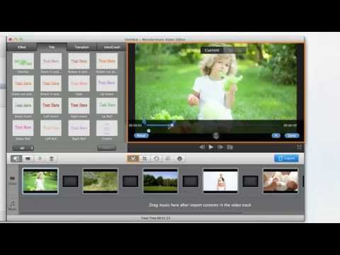 Wondershare Video Editor 2015 - Cut, edit, merge, and trim clips. Add music and text.