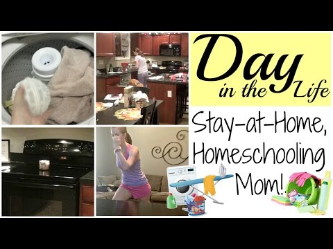 Day in the Life   Weekday Routine for a Stay-at-Home & Homeschooling Mom!