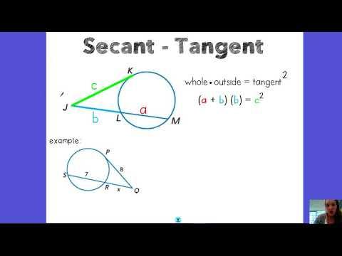 10.7 Secant-Tangent