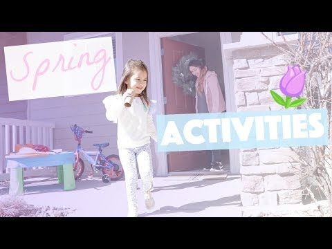 Springtime Activities for Kids!