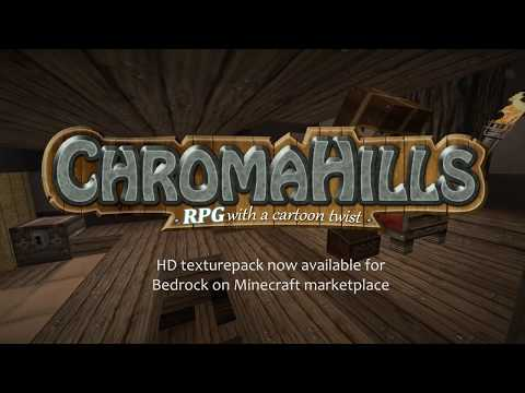 Chroma Hills resource pack *official* trailer  PC/Bedrock