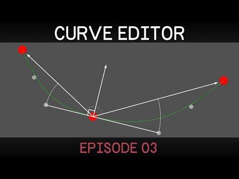 [Unity] 2D Curve Editor (E03: closed path and auto-controls)