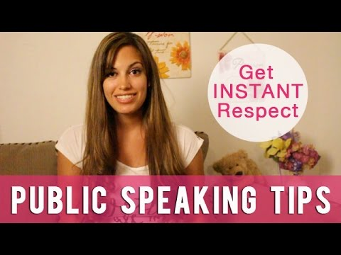 6 Public Speaking Tips- Use these everyday to get Instant Respect!