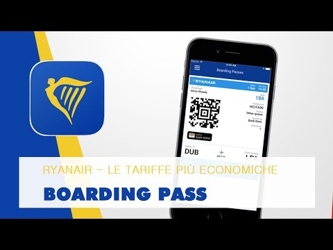 Ryanair - Boarding Pass
