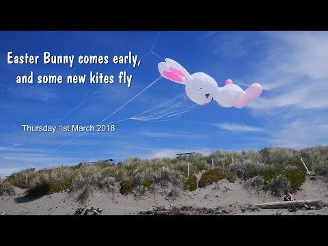 Easter Bunny comes early and new kites fly