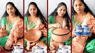 Download Shilparamam Hyderabad shopping || Clay pots shopping in shilparamam || Clay pots for cooking Video