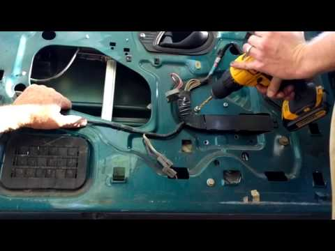Don't Get Hung Up On the Rivets! Window MOTOR AND REGULATOR Replacement on a 95 Ford Ranger 93-10
