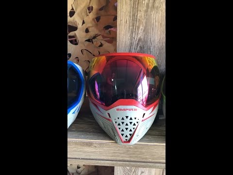 Empire EVS Team Edition Paintball Mask - First Look
