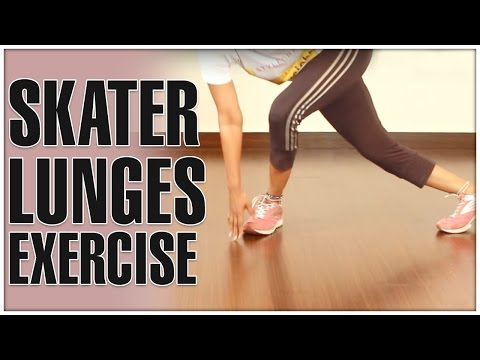 Skater Lunges Exercise | How To