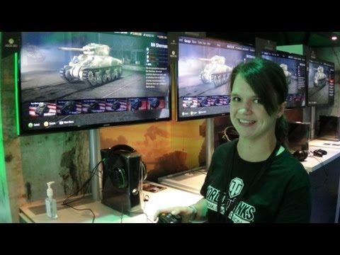 E3 2013: World of Tanks for Xbox 360 hands-on demonstration