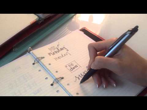 Handwriting Tips for Your Planner