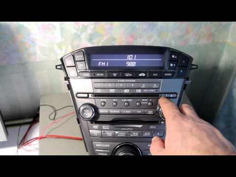 MDX'2007 radio tune step
