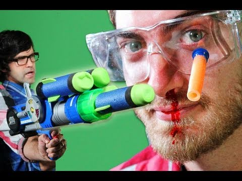 Epic Gun Battle - Rhett & Link