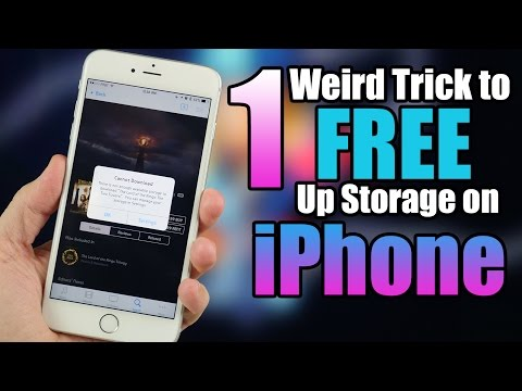 One Weird Trick to Free Up Storage Space on iPhone!